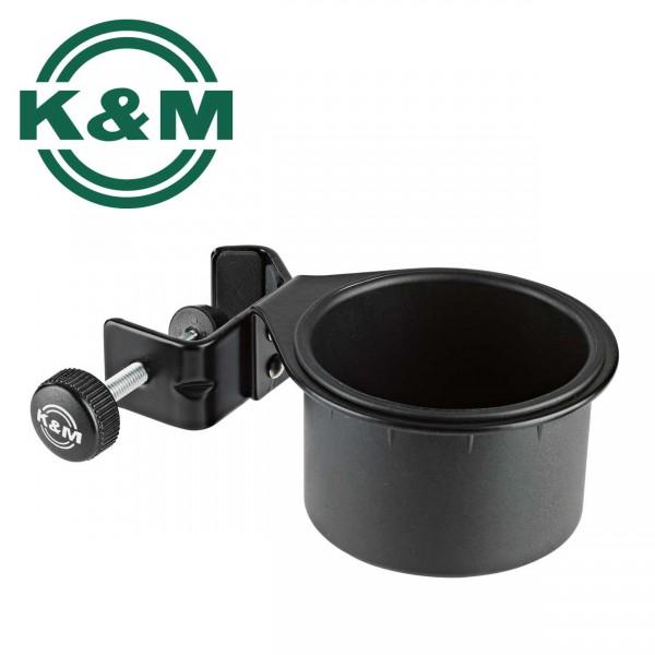 K&M Dosenhalter 16024 schwarz