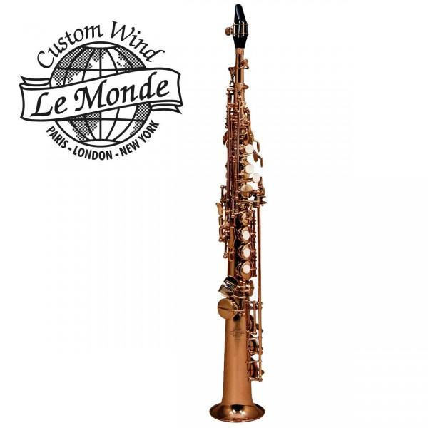 Le Monde Sopransaxophon Global Amber