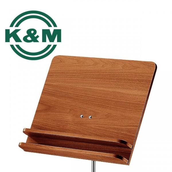 K&M Orchesternotenpult Nussbaum 118/3