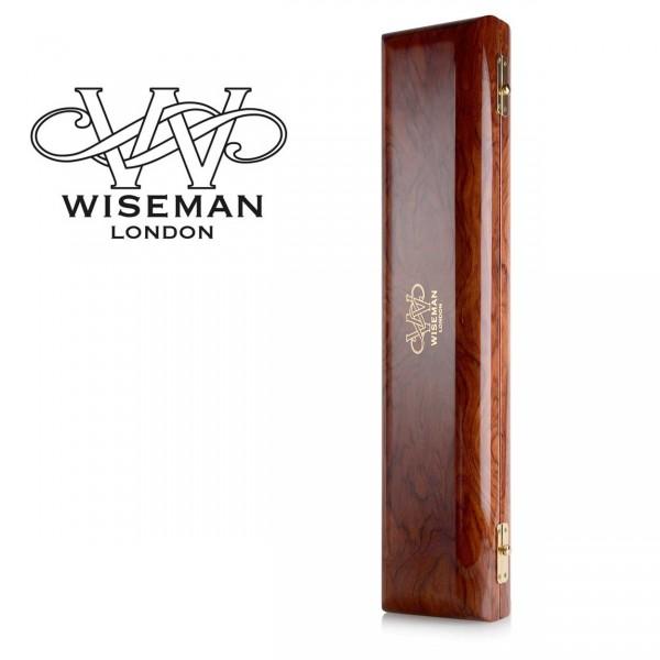 Wiseman Querflöten-Etui Snake Wood (Black Velvet)