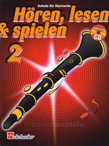 Hören, lesen & spielen Klarinette Deutsch Band 2
