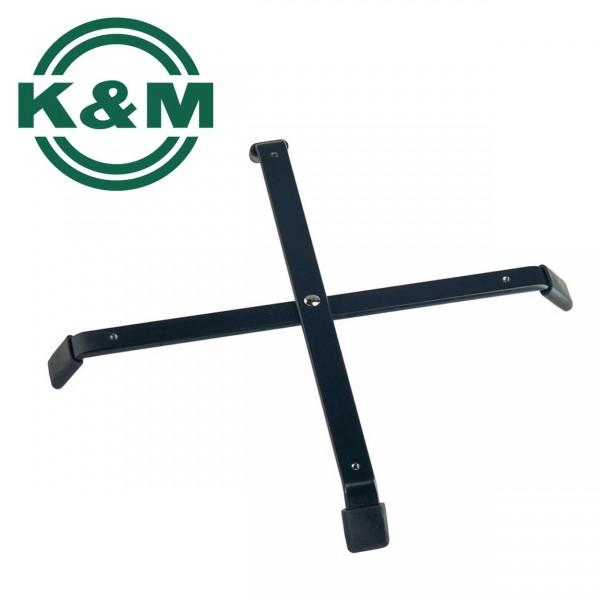 K&M Kreuzfuß 17710 für 4 Instrumentenkegel