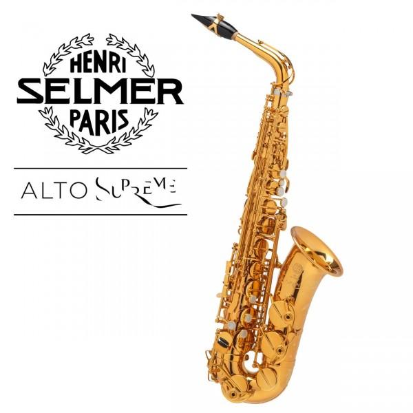 Selmer Altsaxophon Supreme - vergoldet