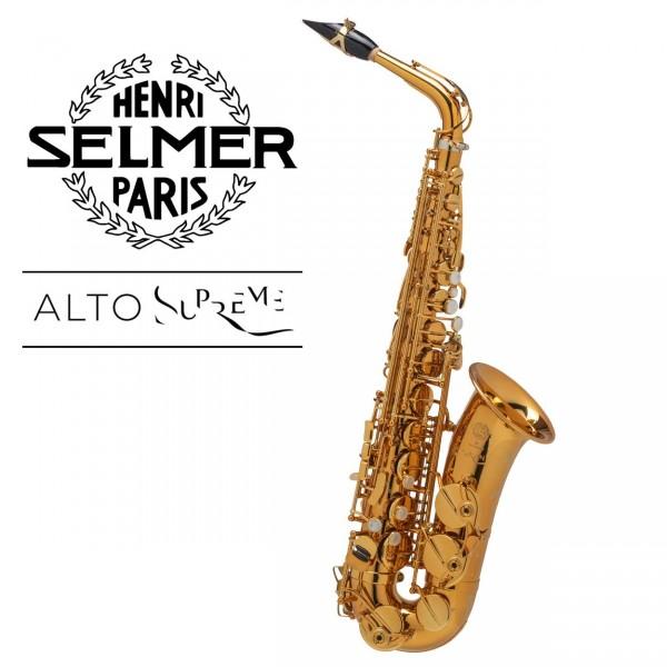 Selmer Altsaxophon Supreme - Goldlack