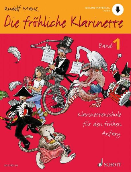 Die fröhliche Klarinette 1 (mit Online-Material)