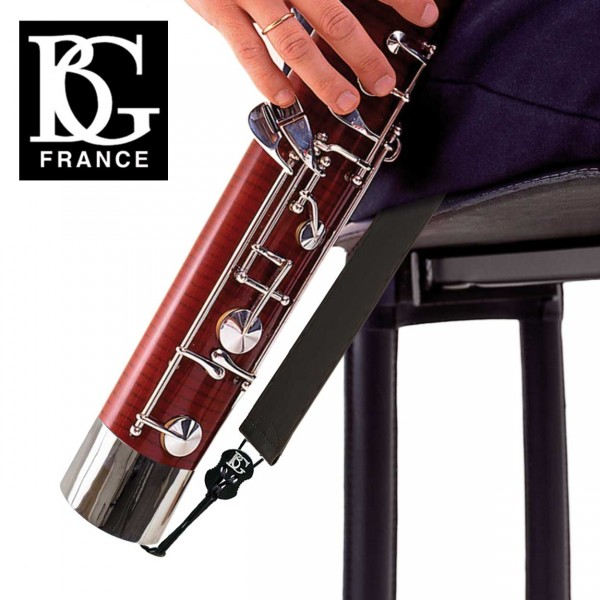 BG Leder-Sitzgurt Fagott mit Haken B05