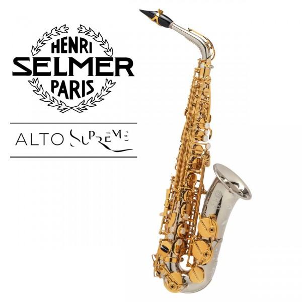 Selmer Altsaxophon Supreme - Vollsilber