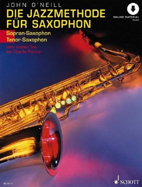 Die Jazzmethode für Saxophon (Sopransaxophon/Tenorsaxophon)