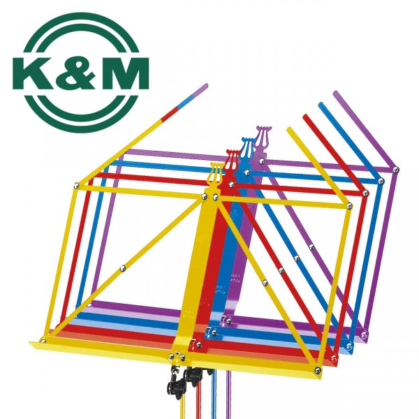 K&M Notenständer 100/1 in verschiedenen Farben