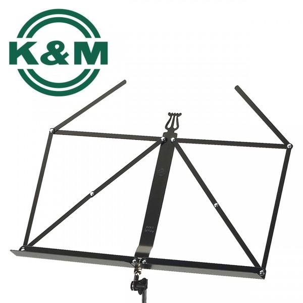 K&M Notenständer 100/1 schwarz