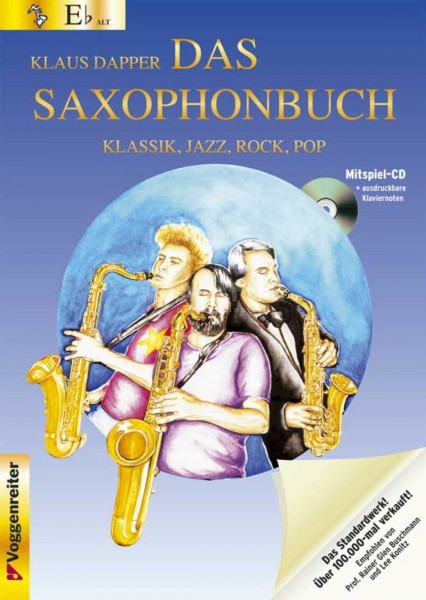 Klaus Dapper - Das Saxophonbuch (Altsaxophon) in Eb Band 1