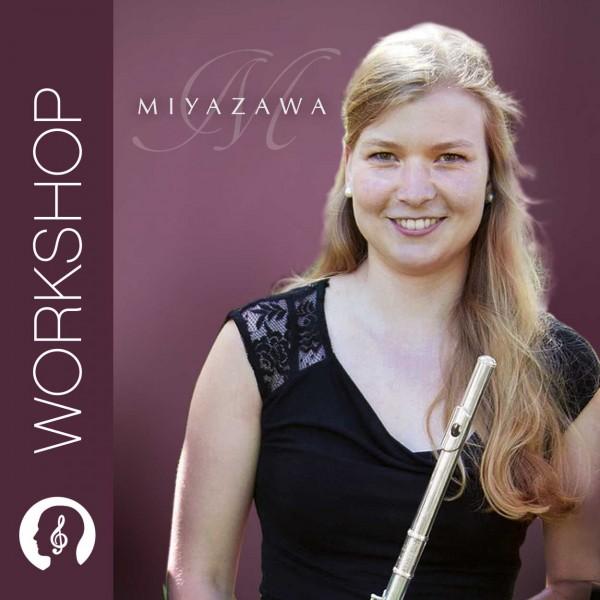 Miyazawa Querflöten-Workshop mit Theresa Schröttle