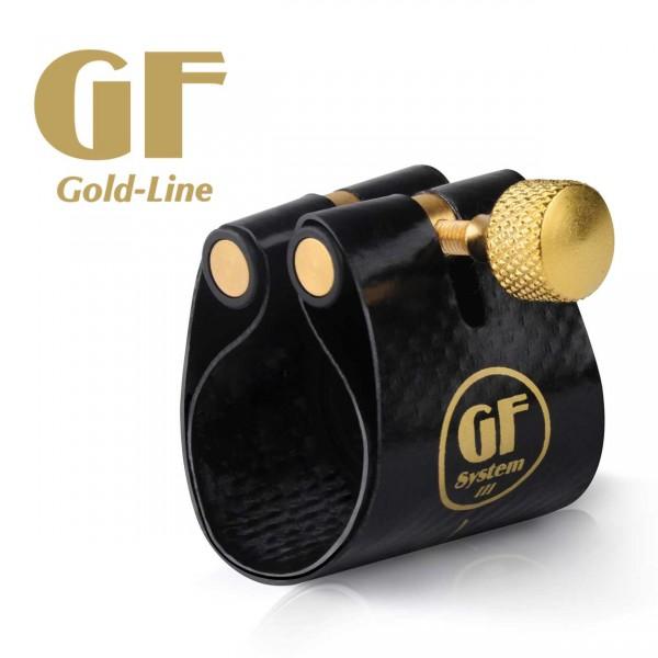GF-System Blattschraube für Saxophon 'Gold-Line'