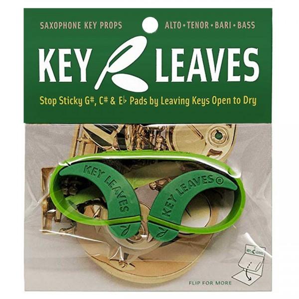 Key Leaves Gummi-Klappenkeile für Saxophon
