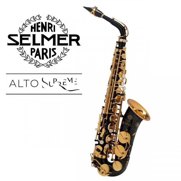 Selmer Altsaxophon Supreme - schwarz