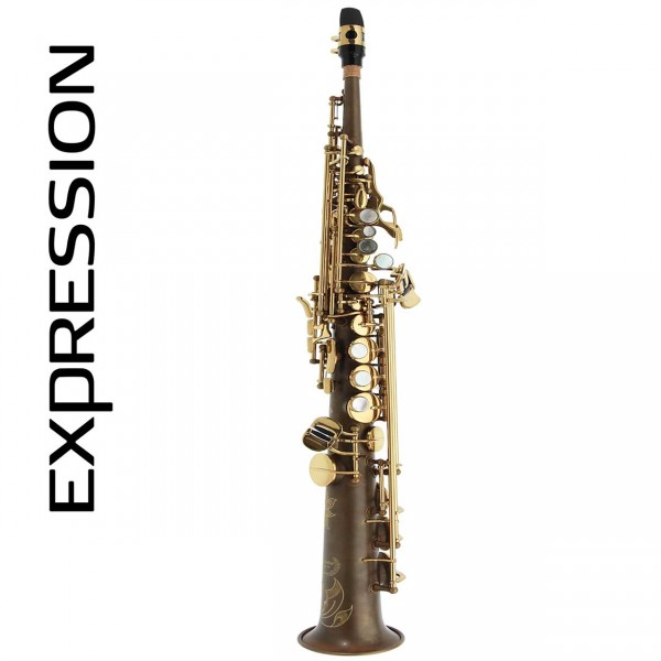 Expression Sopransaxophon gerade X-Old Classic