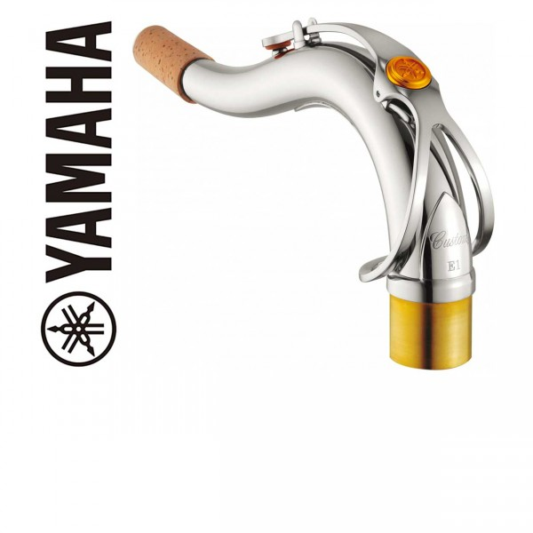 Yamaha S-Bogen Custom Tenorsaxophon E1 versilbert