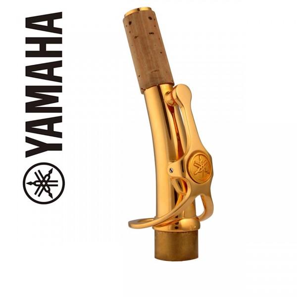 Yamaha S-Bogen (gebogen) Sopransaxophon Custom vergoldet (diverse Modelle)
