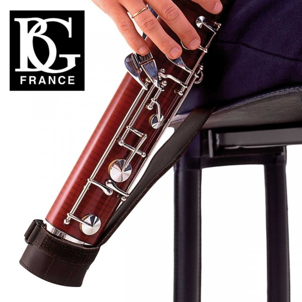 BG Leder-Sitzgurt Fagott mit Tasche B06