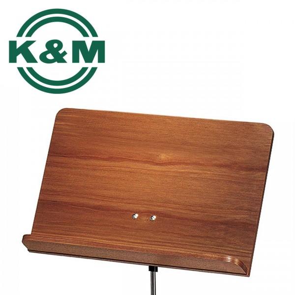K&M Orchesternotenpult Nussbaum 118/4