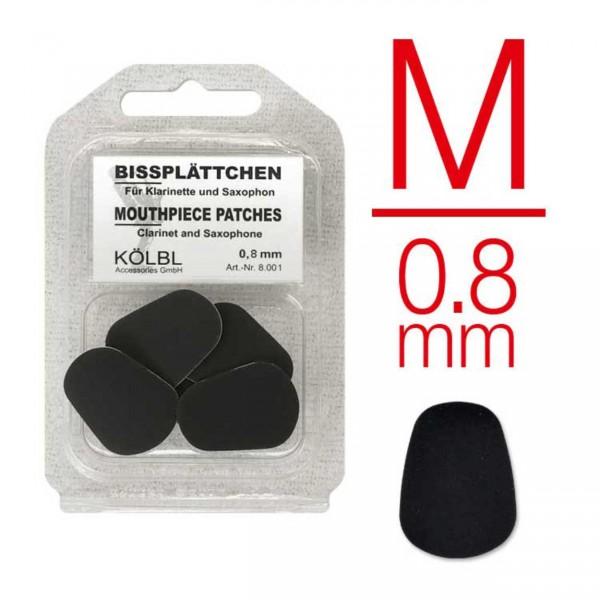Kölbl Bissgummis 0,8 mm schwarz