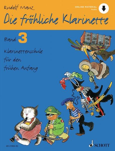 Die fröhliche Klarinette 3 (mit Online-Material)
