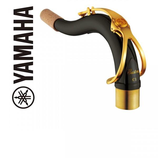 Yamaha S-Bogen Tenorsaxophon Custom schwarz (diverse Modelle)