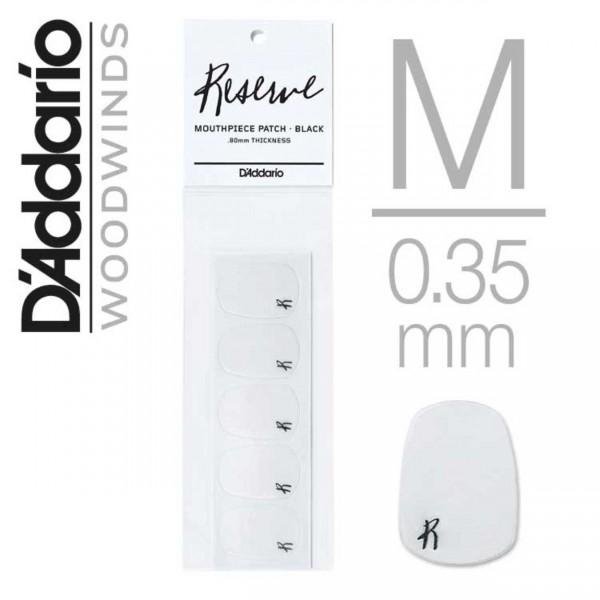 D'Addario Bissgummis transparent 0,35 mm