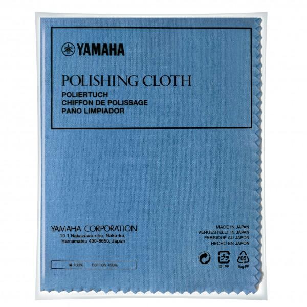 Yamaha Poliertuch (Polishing Cloth) blau für Querflöte