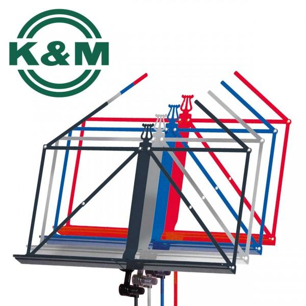 K&M Notenständer 100/5 in verschiedenen Farben