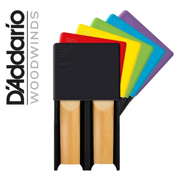 D'Addario Reed Guard Klarinette/Saxophon (diverse Farben)