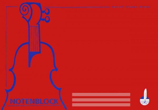 Star Notenblock 307/12 (DIN A4)