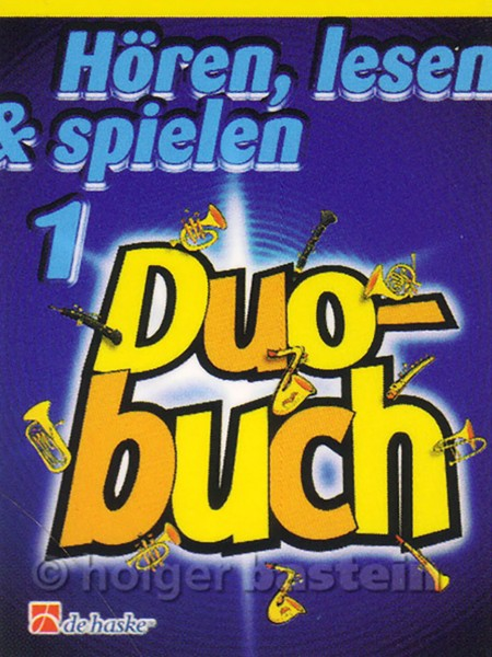 Hören, lesen & spielen Tenorposaune, Duobuch 1