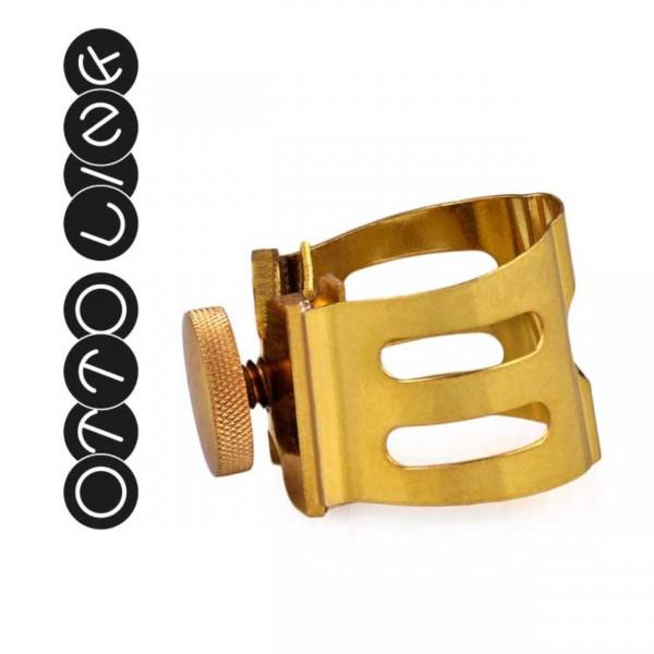 Otto Link Ligatur für Saxophon Metall-Mundstücke (Diverse Größen)