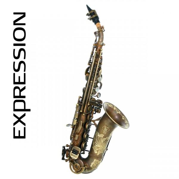 Expression Sopransaxophon gebogen X-Old