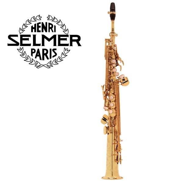 Selmer Sopransaxophon Serie III Goldlack