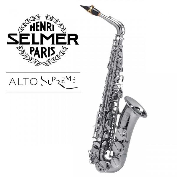 Selmer Altsaxophon Supreme - versilbert