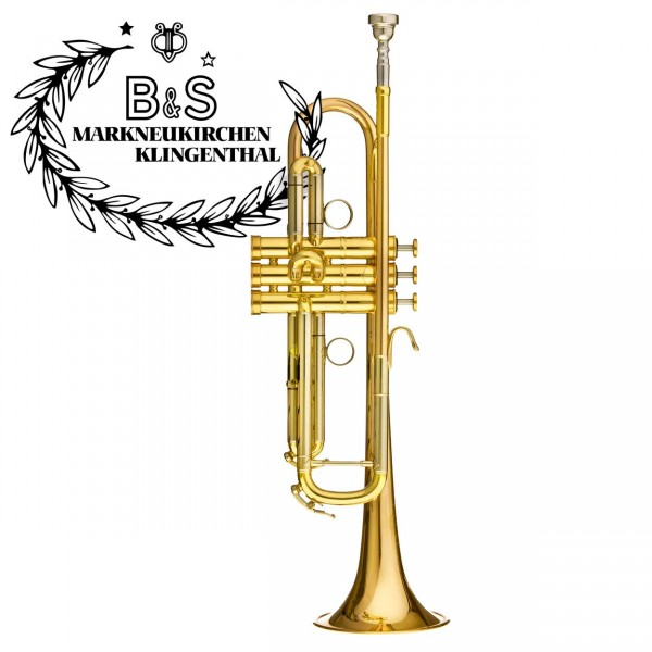 B&S B-Trompete Heritage MBX-HLR lackiert