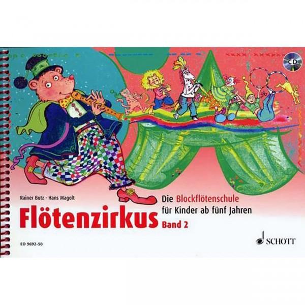 Flötenzirkus mit CD 2