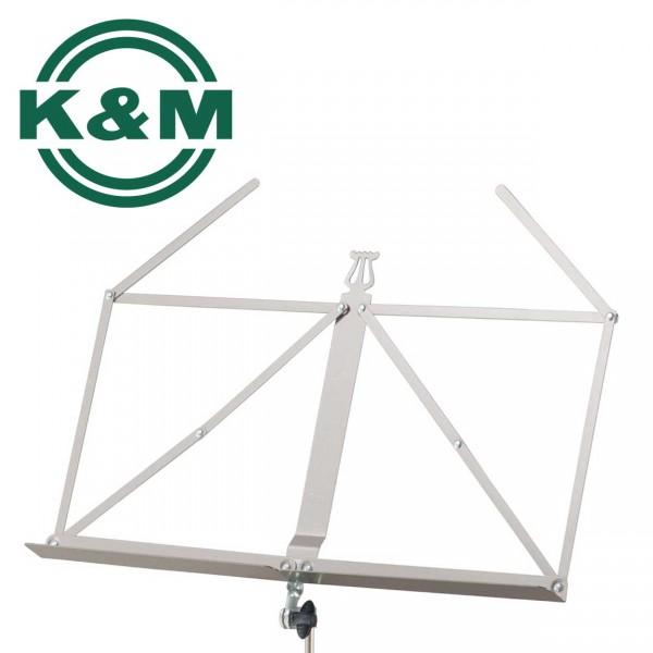 K&M Notenständer 101 nickelfarbig
