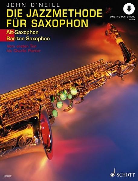 Die Jazzmethode für Saxophon (Altsaxophon/Baritonsaxophon)