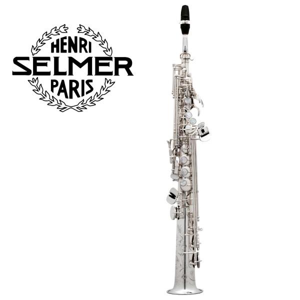 Selmer Sopransaxophon Serie III versilbert