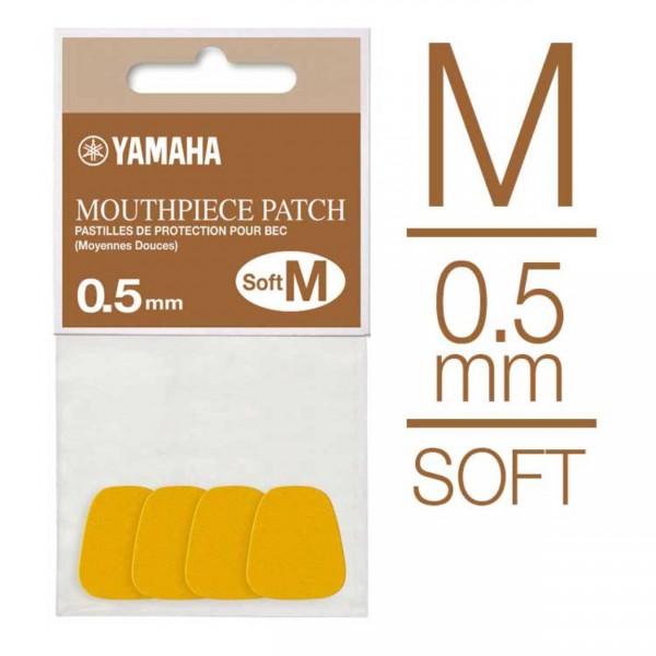 Yamaha Bissgummis Soft (M) transparent 0,5 mm