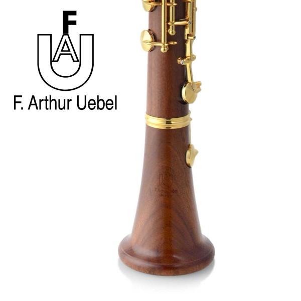 Uebel A-Klarinette A-638 Mopane (vergoldet)