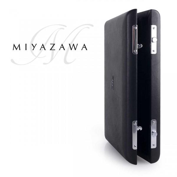 Miyazawa Etui für 5 separate Querflöten-Kopfstücke