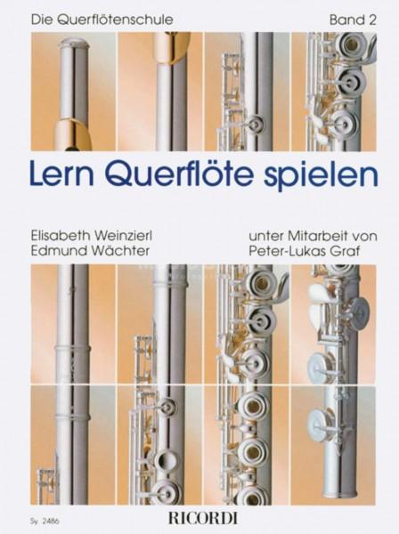 Lern Querflöte Spielen Band 2